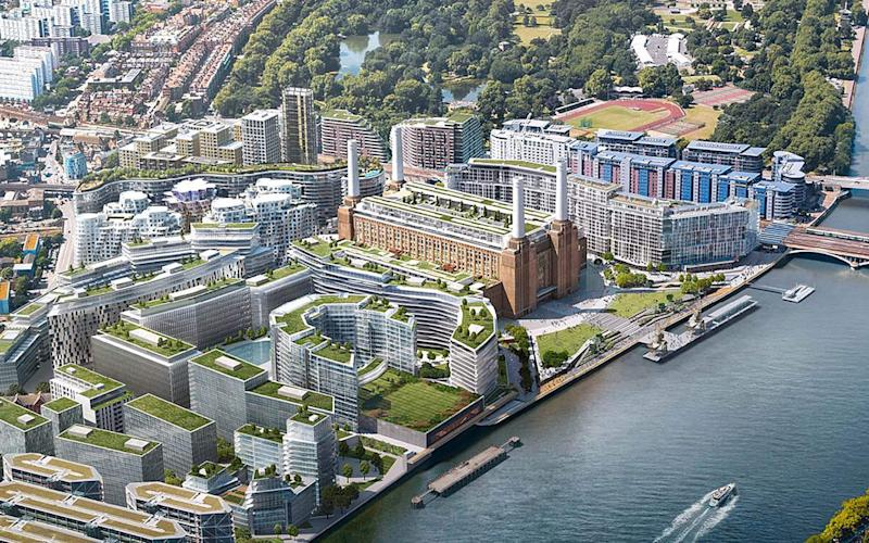 Battersea Power Station has been valued at £1.6bn