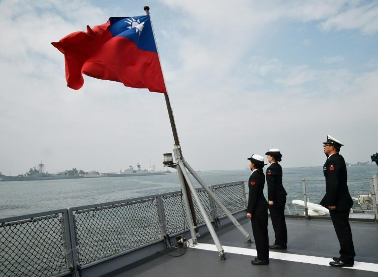 Democratic and self-ruled Taiwan split from China at the end of a civil war in 1949 and exists under the constant threat of invasion by the mainland