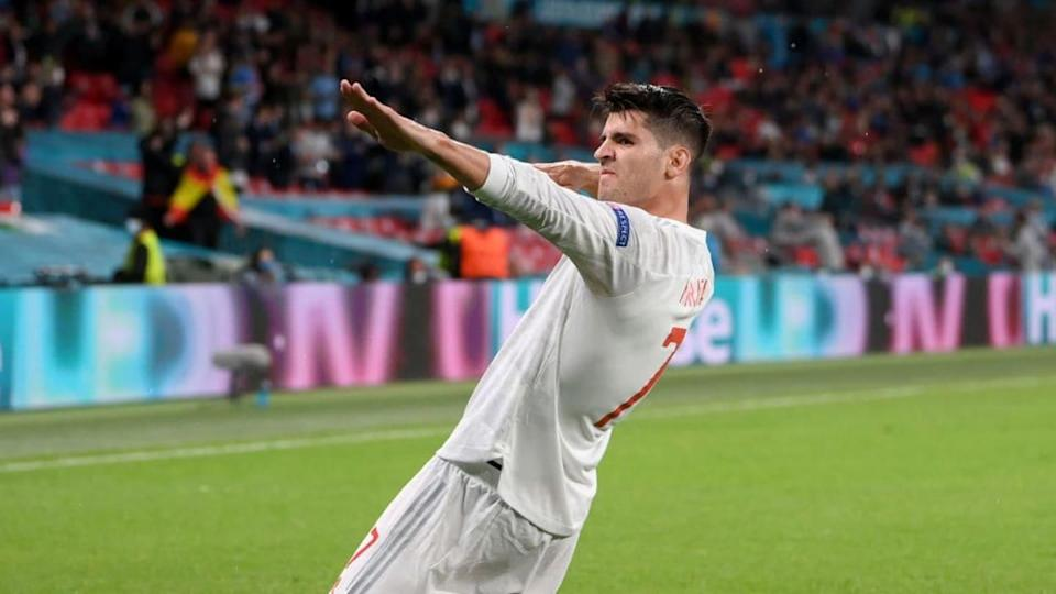 Álvaro Morata | Laurence Griffiths/Getty Images