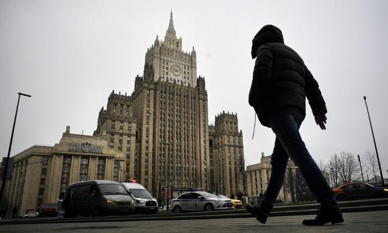 The Russian Foreign Ministry summoned several senior EU diplomats before announcing the travel bans