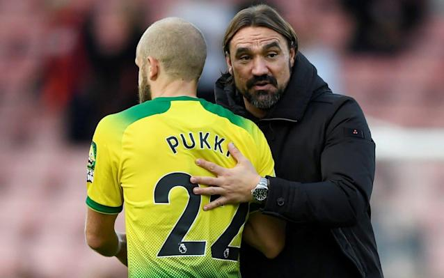 Norwich claimed their first away point since their Premier League return with a 0-0 draw with Bournemouth - Action Images via Reuters