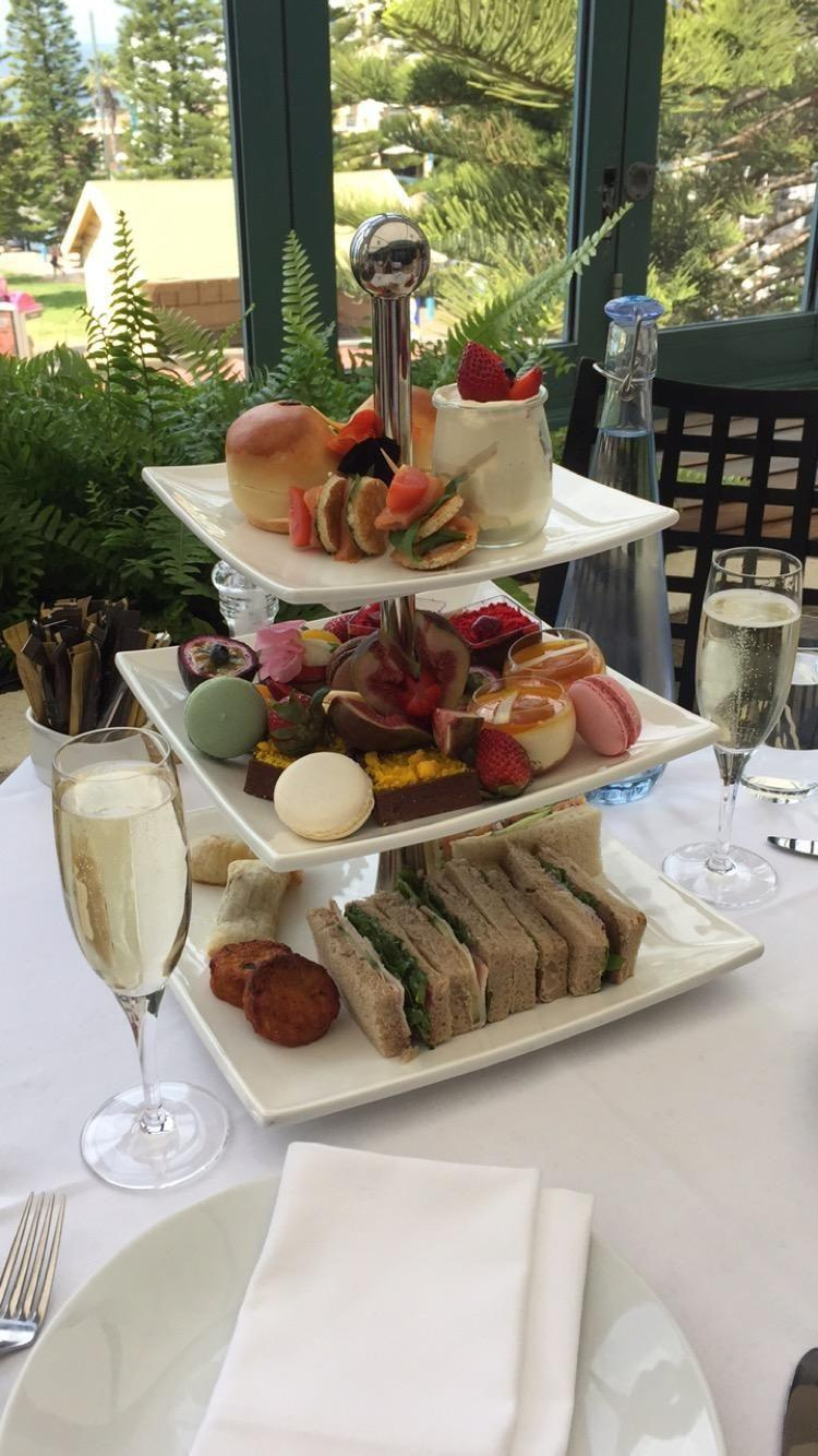 Treat yo'self to a swish high tea. Source: Be