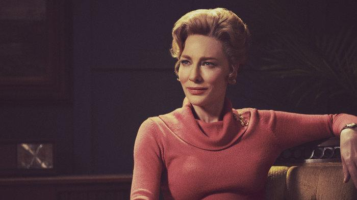 Cate Blanchett needs to be more careful with her gardening equipment (Image by Hulu)