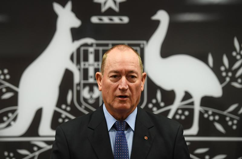 Fraser Anning lost his seat in Queensland state (EPA)