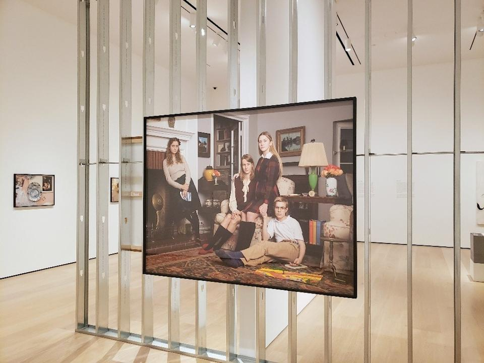 """At the 'Made in L.A.' exhibition: Buck Ellison, """"The Prince Children, Holland, Michigan, 1975,"""" 2019, archival pigment print."""