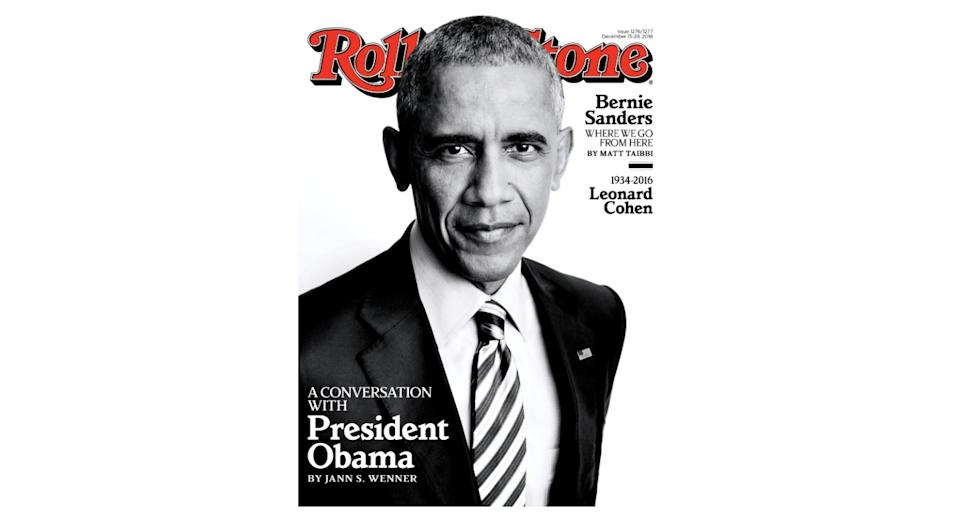 Former US President, Barack Obama, opened up about life in the White House the day after Donald Trump was sworn into office. <em>[Photo: Rolling Stone]</em>