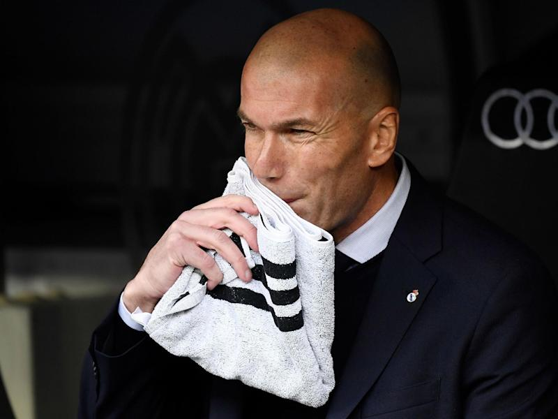 Zinedine Zidane's side are getting into their stride as others falter: Getty