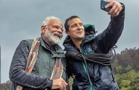 Twitterati goes gaga over PM Narendra Modi in 'Man vs Wild'