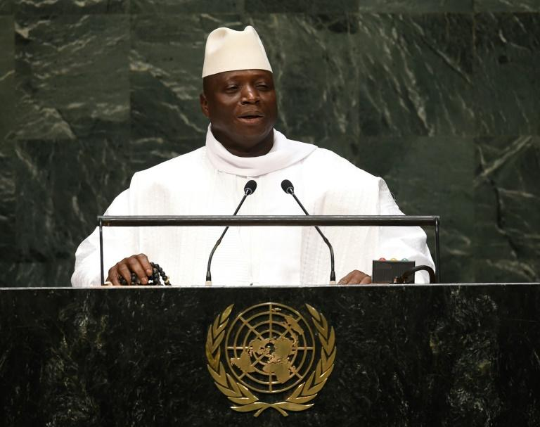 Former Gambian president Yahya Jammeh ruled the country for 22 years