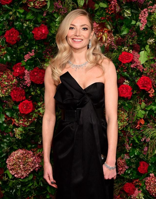 Clara Paget on the red carpet