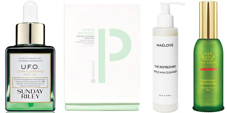 <p>Whether you're dealing with regular breakouts or the occasional errant zit, when a blemish turns up, you want it gone fast. Here we've rounded up some of the best products for making that happen, as well as keeping new breakouts at bay in the future. </p>