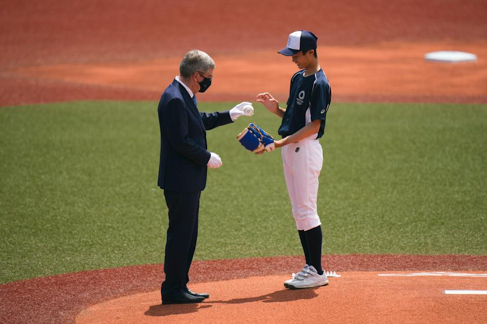 Tokyo Olympics Baseball (Copyright 2021 The Associated Press. All rights reserved)