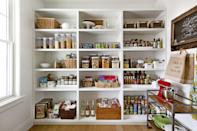 """<p>When you walk into the pantry at Ree Drummond's guesthouse, <a href=""""https://www.thepioneerwoman.com/ree-drummond-life/a32109165/ree-drummond-lodge-tours-dates-info/"""" rel=""""nofollow noopener"""" target=""""_blank"""" data-ylk=""""slk:The Lodge"""" class=""""link rapid-noclick-resp"""">The Lodge</a>, one of the first things you see is her pantry—with a full wall of amazing food storage containers. As you can imagine, Ree likes to keep a lot of ingredients on hand for her show, so she's found ways to expertly (and stylishly) store them. She's also got a fridge packed with leftovers...don't you want to move in?</p><p>But there are even more reasons to love storage containers besides sending home leftovers and packing school lunches. These containers are also such a great way to prep a week's worth of meals ahead of time—meaning they're the perfect accompaniment to those healthy eating resolutions of yours. And the best way to ensure you'll stick to your goals is to splurge on a brand-new set you know you'll use and love! Plus, can you really ever have too many storage containers for optimal <a href=""""https://www.thepioneerwoman.com/home-lifestyle/decorating-ideas/g32345268/pantry-organization-ideas/"""" rel=""""nofollow noopener"""" target=""""_blank"""" data-ylk=""""slk:pantry organization"""" class=""""link rapid-noclick-resp"""">pantry organization</a> purposes? Of course not. <br></p><p>Below is a shoppable list of the prettiest, most versatile, and hardest working food storage containers out there. For those short on cabinet space, there are a bunch that nest to save room. For parents, there are lots of cute options for kids that are perfect for packing an enviable lunchbox. And of course, Ree has a few floral storage pieces of her own that can brighten up any fridge or countertop. Scroll down to see just how many awesome picks are in store. (Check out these <a href=""""https://www.thepioneerwoman.com/food-cooking/g32389325/spice-jars/"""" rel=""""nofollow noopener"""" target=""""_blank"""" data-ylk=""""slk:best spice jars"""" class="""