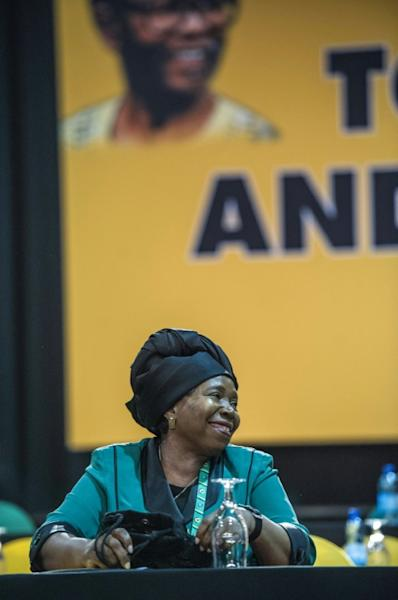 Nkosazana Dlamini-Zuma, former African Union chief and President Jacob's Zuma's ex-wife, is one of the favourites to be the next ANC leader