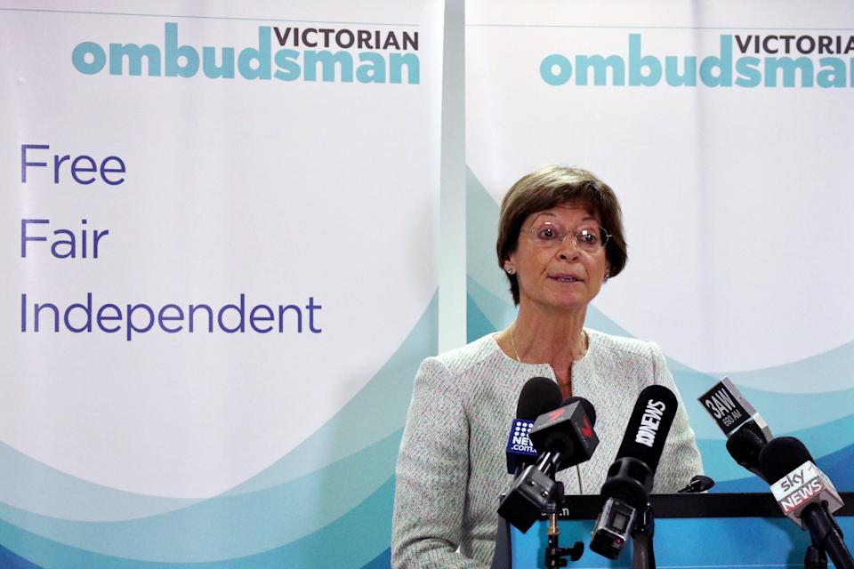 Victorian Ombudsman Deborah Glass revealed thousands of human rights breaches were reported amid the pandemic. Source: AAP