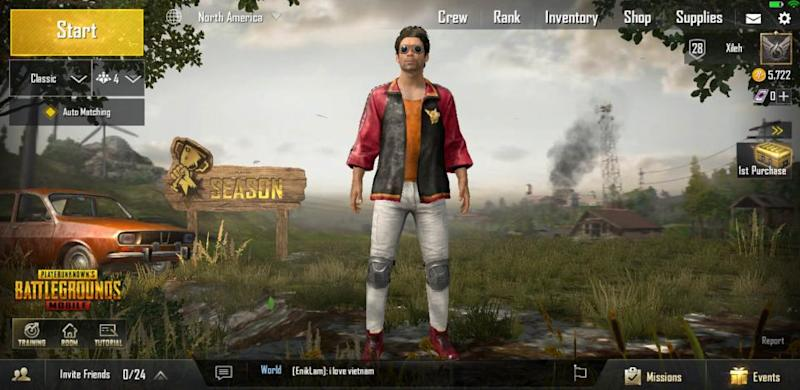 PUBG Mobile 040 title screen