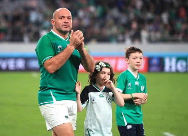 Former Ireland captain Rory Best retired after the World Cup in Japan (Adam Davy/PA)
