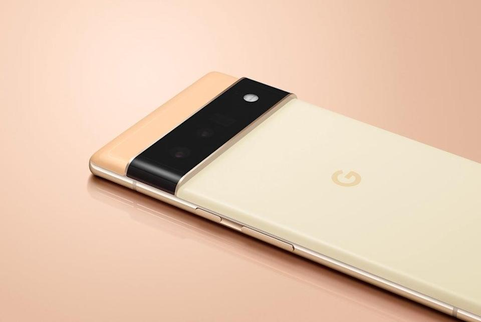 The Pixel 6, due to be the first Google phone without a plug  (Google)