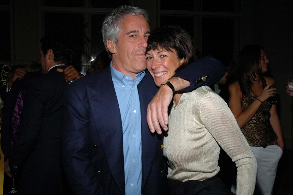Epstein with Maxwell in 2005: Getty Images