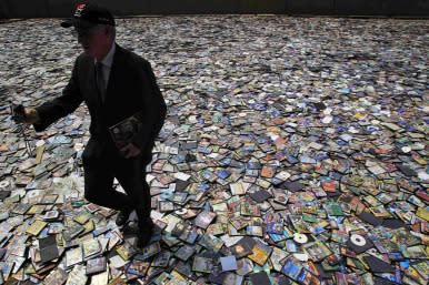 DVDs discarded
