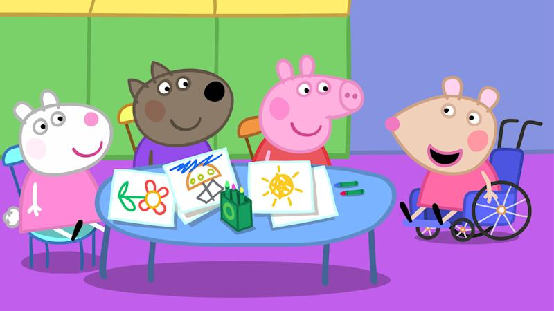 """""""Peppa Pig"""" Introducing Mandy Mouse Is a Major Moment for Disability Representation"""