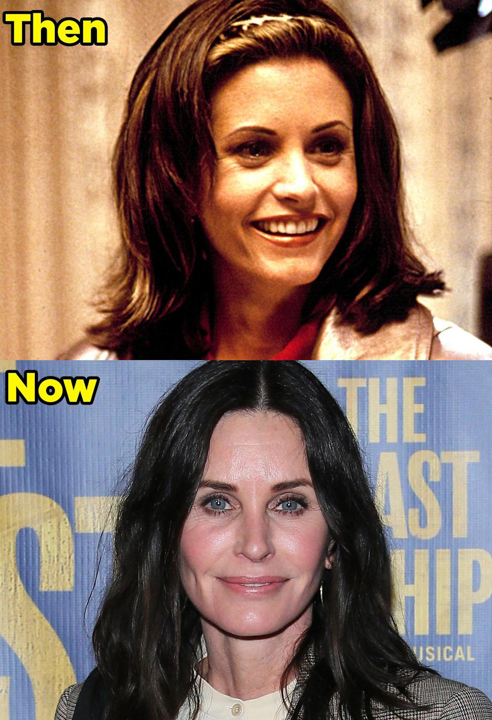 What she's up to now: Courteney is best known for her roles on Friends, Dirt, Family Ties, and Cougar Town. She continued acting a bunch, started directing, and began a production company with her ex-husband, David Arquette. Most recently, she appeared in HBO's Friends: The Reunion, a special that won an Emmy award for Outstanding Variety Special. She's also set to executive produce and star in an adaptation of the docuseries Last Chance U and will be starring in a new Starz series called Shining Vale. Plus, she will be returning for the fifth installment in the Scream franchise.