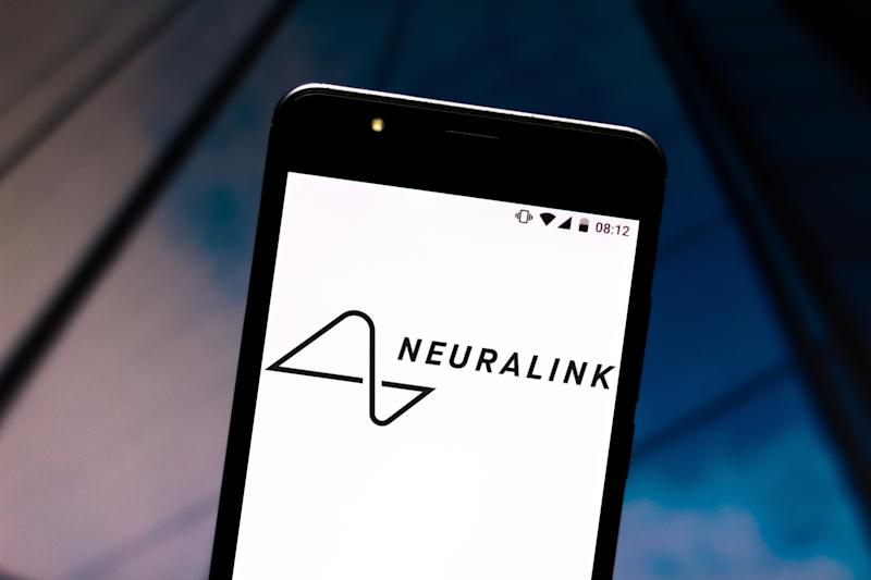 BRAZIL - 2019/07/08: In this photo illustration a Neuralink logo seen displayed on a smartphone. (Photo Illustration by Rafael Henrique/SOPA Images/LightRocket via Getty Images)