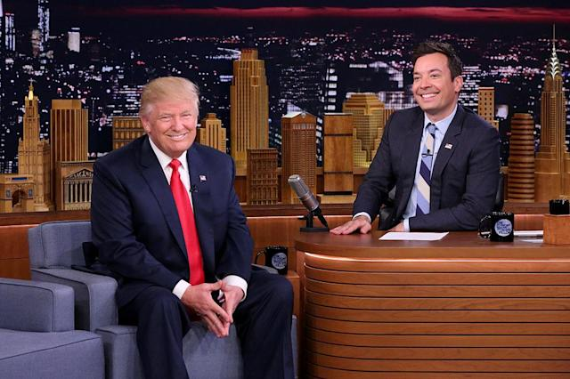 Donald Trump and Jimmy Fallon (Photo: Getty Images)