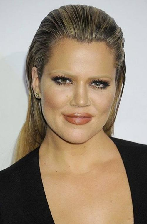 The Kardashians are trying to make bleached eyebrows work and no amount of embarrassing photos are going to stop them. Khloe posted this image to her blog yesterday, showing off her Photoshopped brows while she tried out new beauty looks. We can only hope someone advised her that brows are always a good idea.