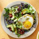 <p>Salad for breakfast? Don't knock it until you've tried it. We love how this meal gives you 3 whole cups of vegetables to start your day.</p>