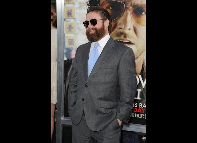 Zach Galifianakis arrives at the premiere of Warner Bros. 'The Hangover Part II' at Grauman's Chinese Theatre on May 19, 2011 in Hollywood, California. (Photo by Jason Merritt/Getty Images)