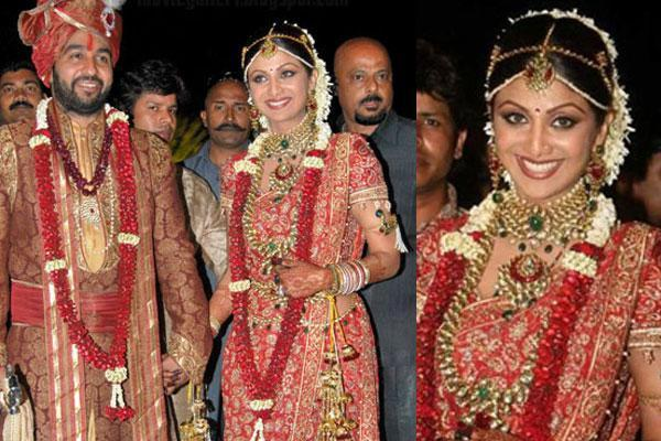 Shilpa Shetty Expensive Wedding Outfit