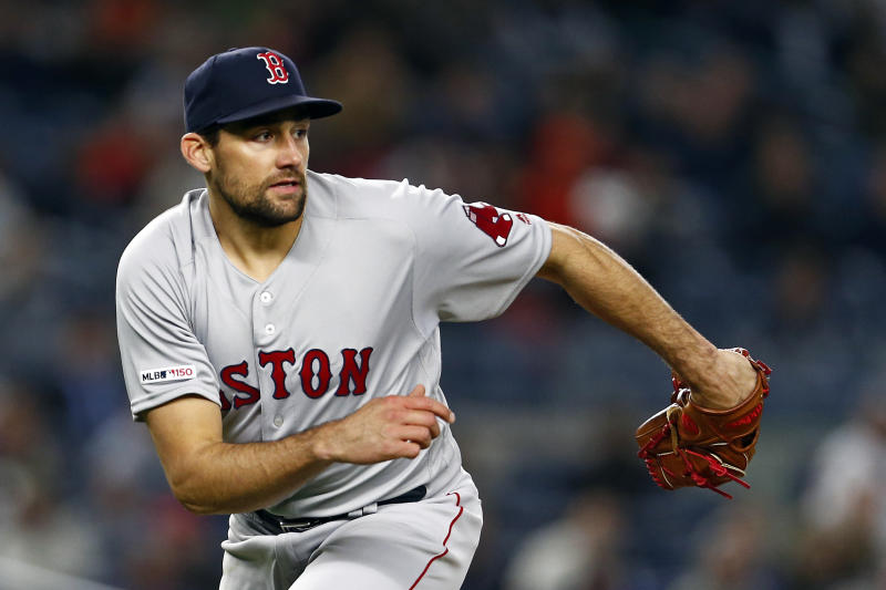 Eovaldi to pitch in relief when he rejoins Red Sox