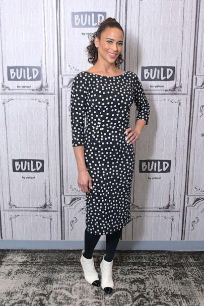 PHOTO: Paula Patton visits Build to discuss the movie 'Sacrifice' at Build Studio on Dec. 18, 2019 in New York City. (Michael Loccisano/Getty Images, FILE)