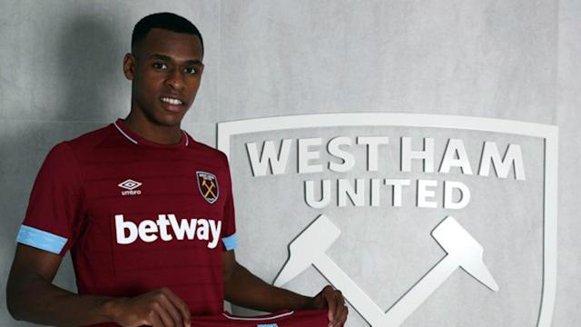 The 21-year-old defender will be playing in the Premier League next season after the Hammers signed the France U21 international from Toulouse