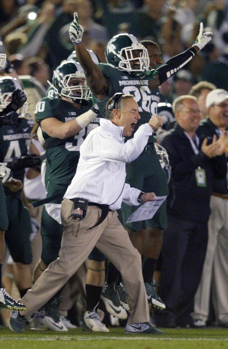 Dantonio says he intends to stay at Michigan State