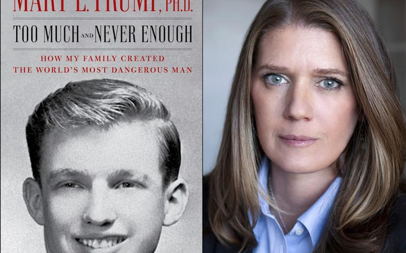 Mary Trump is the author of Too Much and Never Enough: How My Family Created the World's Most Dangerous Man -  Simon & Schuster