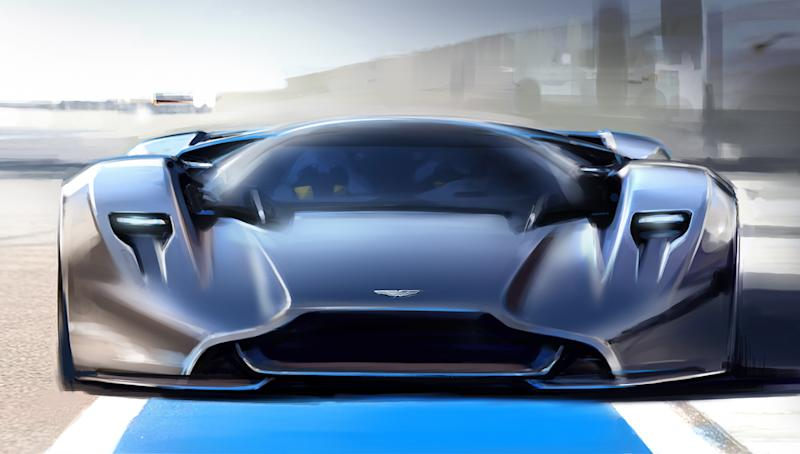 Aston Martin And Red Bull Racing Fast Track A Hybrid Hypercar