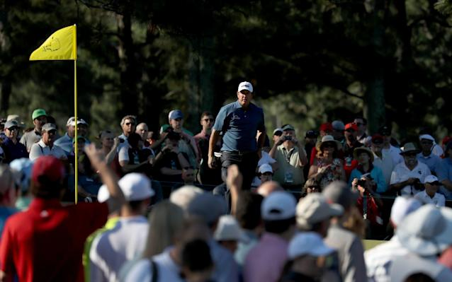 Plenty of people show up to watch the practice rounds at Augusta; it's easier than finding television coverage - EPA