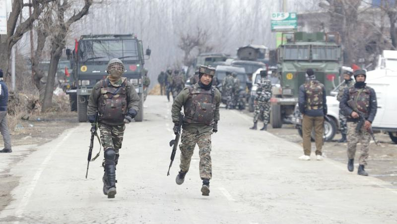 Jammu And Kashmir: One Terrorist Gunned Down by Security Forces in Baramulla Encounter