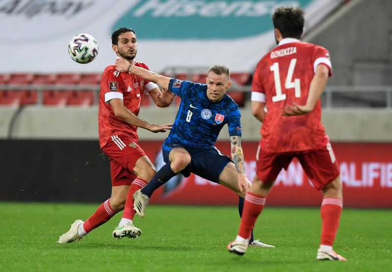 World Cup Qualifiers Europe - Group H - Slovakia v Russia