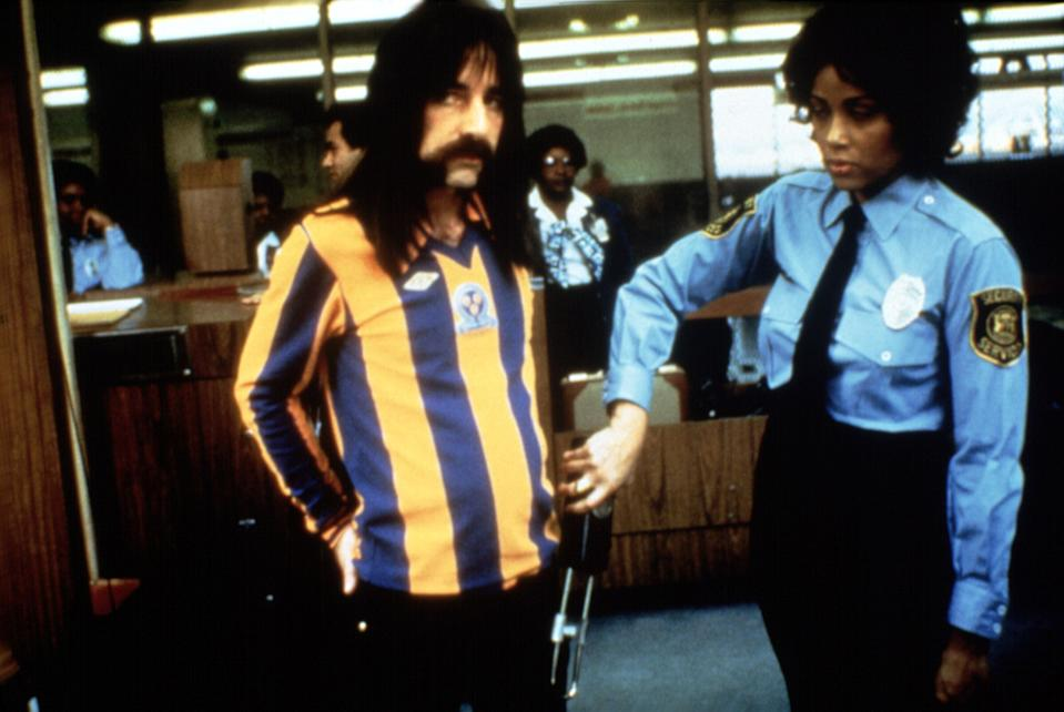 Dereks Smalls reveals what's in his trousers in 'This is Spinal Tap' (Photo: Embassy Pictures/Courtesy Everette Collection)