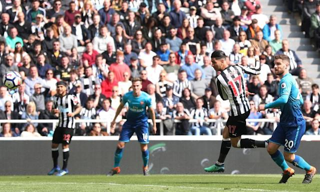 Arsenal slump to another defeat as Matt Ritchie hits Newcastle winner