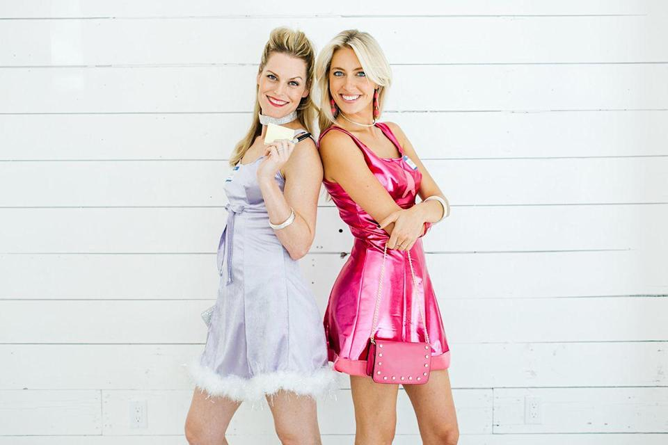 """<p>Proof that you and your best friend's '90s dreams can come true — even if it's for one night only. </p><p><em><a href=""""https://camillestyles.com/living/diy/romy-michele-costumes/"""" rel=""""nofollow noopener"""" target=""""_blank"""" data-ylk=""""slk:Get the tutorial at Camille Styles >>"""" class=""""link rapid-noclick-resp"""">Get the tutorial at Camille Styles >></a><br></em></p><p><strong>RELATED</strong>: <a href=""""https://www.goodhousekeeping.com/holidays/halloween-ideas/g22074138/90s-halloween-costumes/"""" rel=""""nofollow noopener"""" target=""""_blank"""" data-ylk=""""slk:22 Halloween Costumes That Throw It Back to the '90s"""" class=""""link rapid-noclick-resp"""">22 Halloween Costumes That Throw It Back to the '90s</a></p>"""