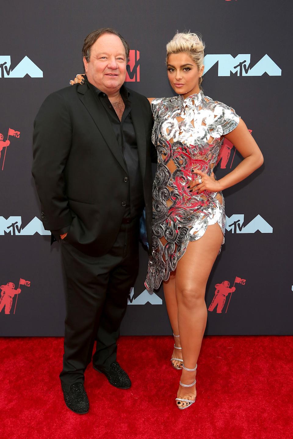 """<h1 class=""""title"""">Robert M. Bakish and Bebe Rexha</h1><cite class=""""credit"""">Photo: Getty Images</cite>"""