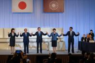 Japan's ruling Liberal Democrat Party votes for new leader
