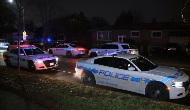 A hospital report shared with CBC News from the night Mensah died noted a 'delay' in paramedics reaching him as police cruisers blocked the roadway to the scene.