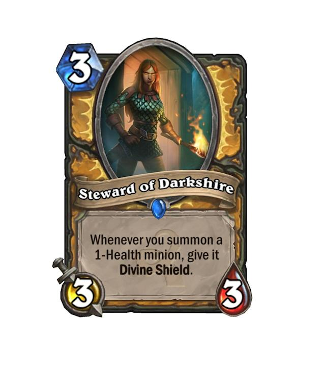 """<p>Every minion is an <a href=""""http://hearthstone.gamepedia.com/Argent_Squire"""" rel=""""nofollow noopener"""" target=""""_blank"""" data-ylk=""""slk:Argent Squire"""" class=""""link rapid-noclick-resp"""">Argent Squire</a> now! Also welcome back to the meta, <a href=""""http://hearthstone.gamepedia.com/Hobgoblin"""" rel=""""nofollow noopener"""" target=""""_blank"""" data-ylk=""""slk:Hobgoblin"""" class=""""link rapid-noclick-resp"""">Hobgoblin</a>.</p>"""