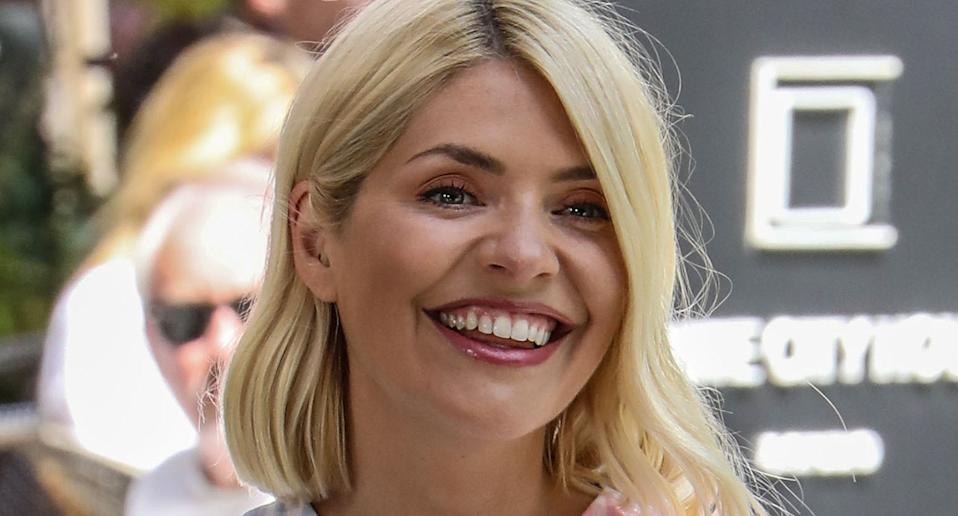 You might want to act fast if you want to snap up this Holly Willoughby-approved dress. (PA)