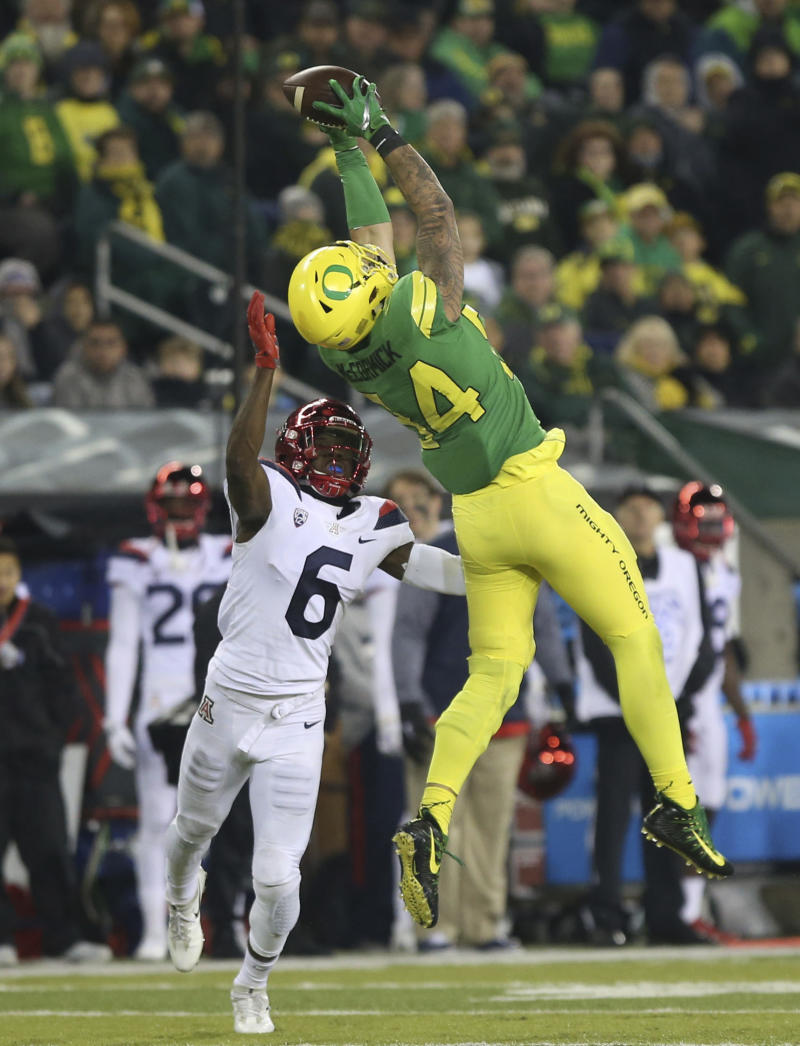 Oregon tight end Cam McCormick to miss remainder of season